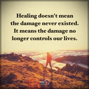 healing moving on